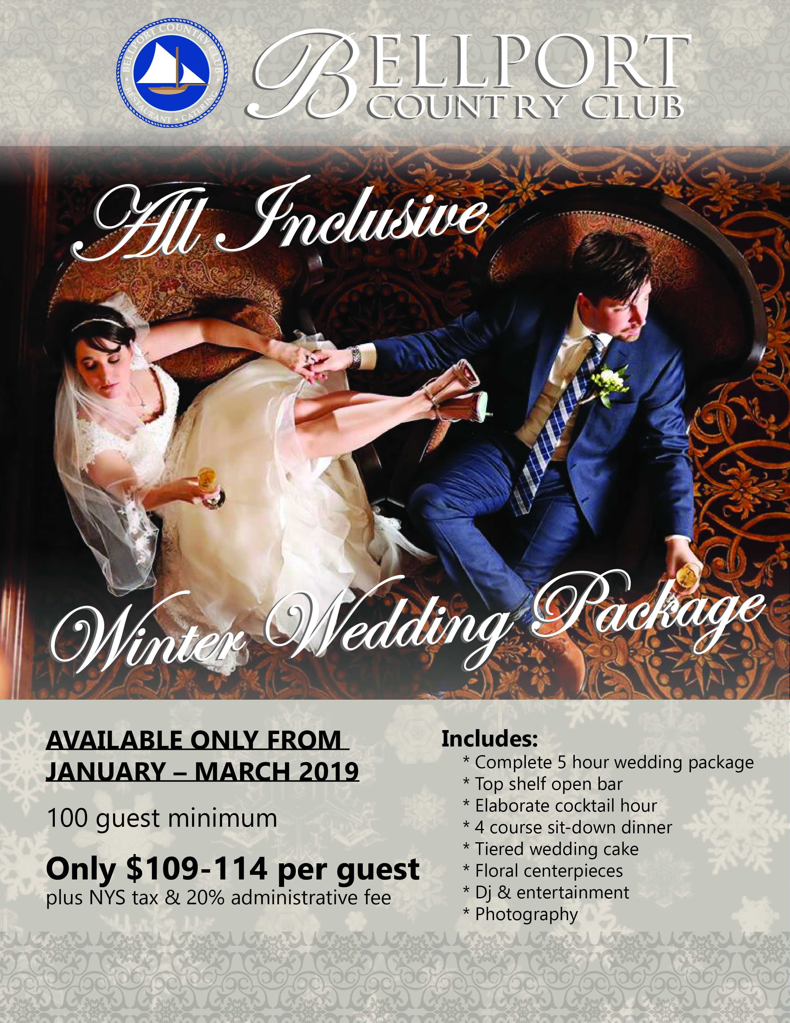 Discounts Available For Any Remaining 2018 Wedding Dates